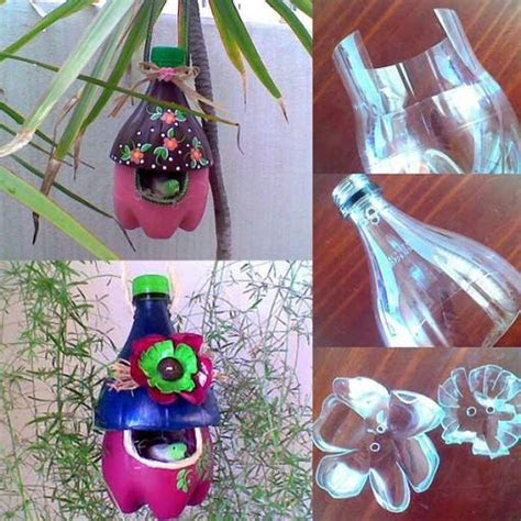 diy cool plastic bottle bird feeder usefuldiycom