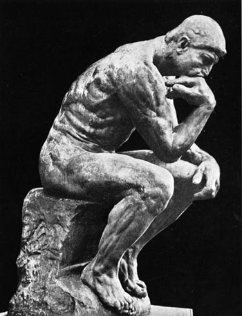 Image result for the thinker image