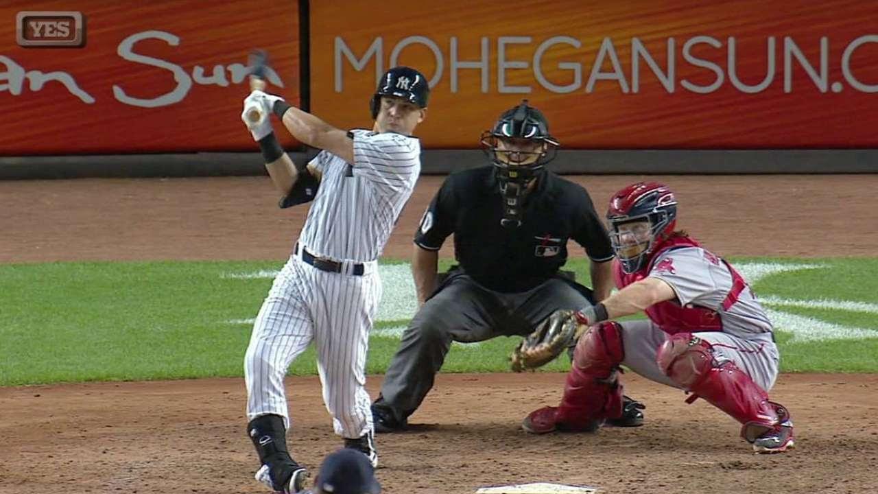HR de Ellsbury fue la diferencia en el triunfo de Yankees vs. Boston