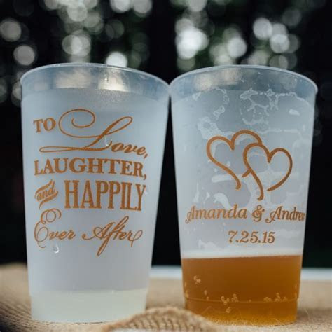 24 Oz. Reusable Custom Printed Frosted Plastic Cups (Set