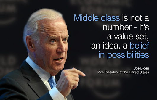 The digital revolution could destroy the middle class, warns Joe Biden