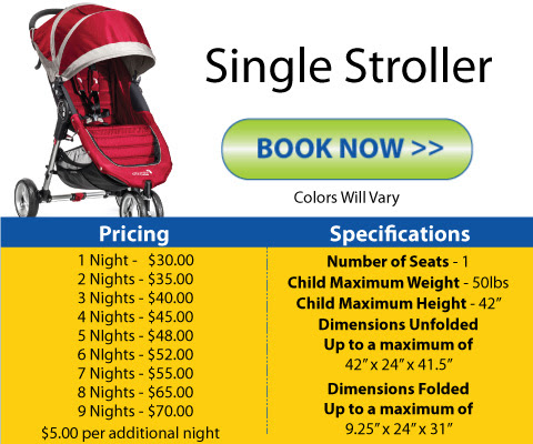 Orlando Stroller Rental | Disney World Orlando Stroller Rental