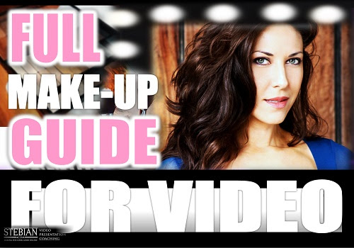 Look Great on Video. Make Up Tips for Men and Women