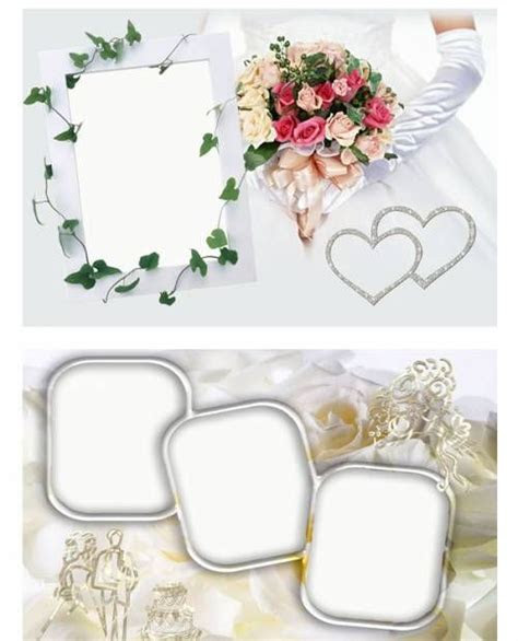 psd photoshop templates wedding frame   wedding   Free PSD