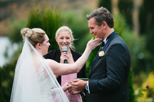 """you made it all so relaxing and such an enjoyable start to our marriage"" - Your Big Day - Charlotte Winkel Queenstown Wedding Celebrant"