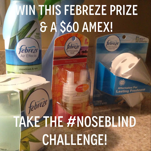 Febreze #Noseblind Challenge + a Giveaway! - The New Modern Momma