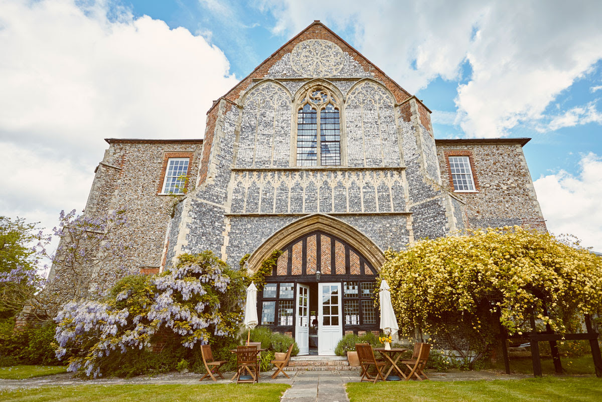 Photo of Butley Priory Wedding Venue in Suffolk - Hello Romance Photography