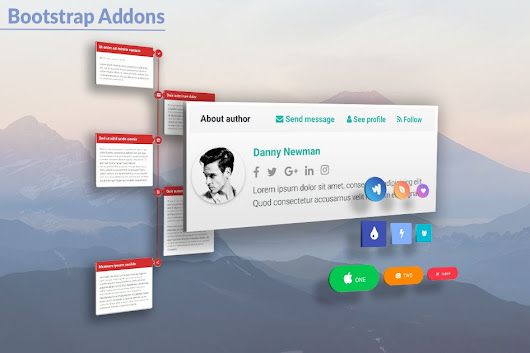 MD Bootstrap plugins & addons - best extensions for the web projects