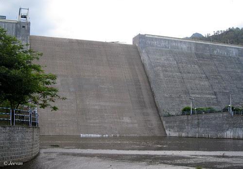Sothuparai Dam - Front view
