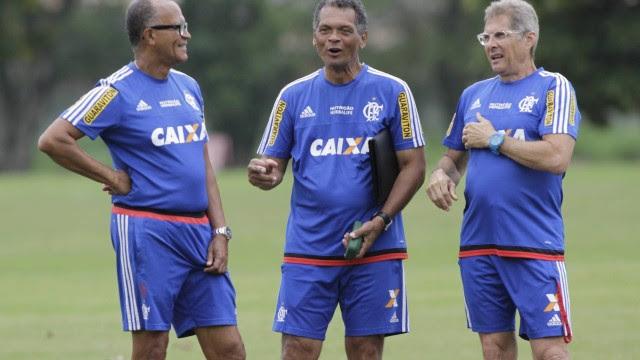 Oswaldo fará teste com o Flamengo no amistoso contra a Deportiva Ferroviária