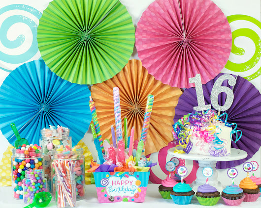 Sweet 16 Birthday Party Ideas – Fun-Squared