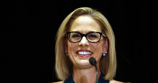 Kyrsten Sinema makes history as first bisexual member of U.S. Senate