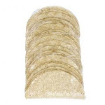 Mission Foods 5 Regular White Taco Shells, 25 Count (8 Pack)