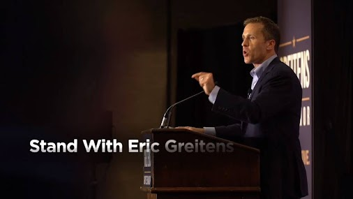 The soon-to-be potentially impeached Gov. Eric Greitens has launched his new fact-free ad defending ...