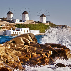Waves in Mykonos by Renzo Re (renzore) on 500px.com