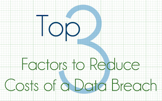 Top 3 Factors to Reduce Costs of Data Breach | First Healthcare Compliance
