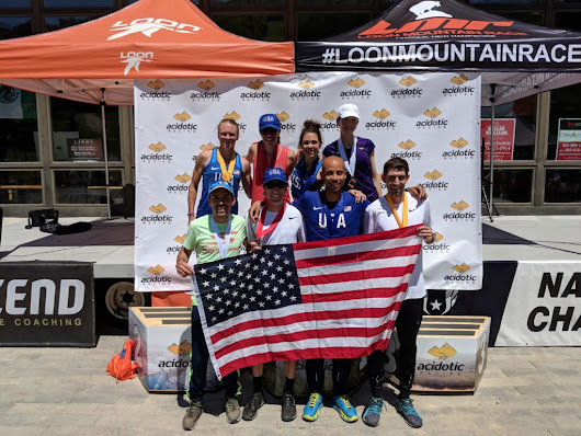 MacLaughlin and Gray lead record field at Loon Mountain Race — ATRA