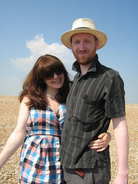 Dan and Vic at Dungeness