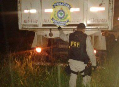 PRF prende integrante de quadrilha especializada em roubo de cargas na BR-101