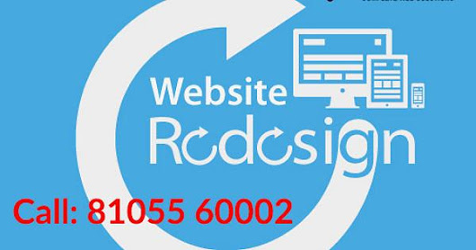 Website Redesign Service Bangalore