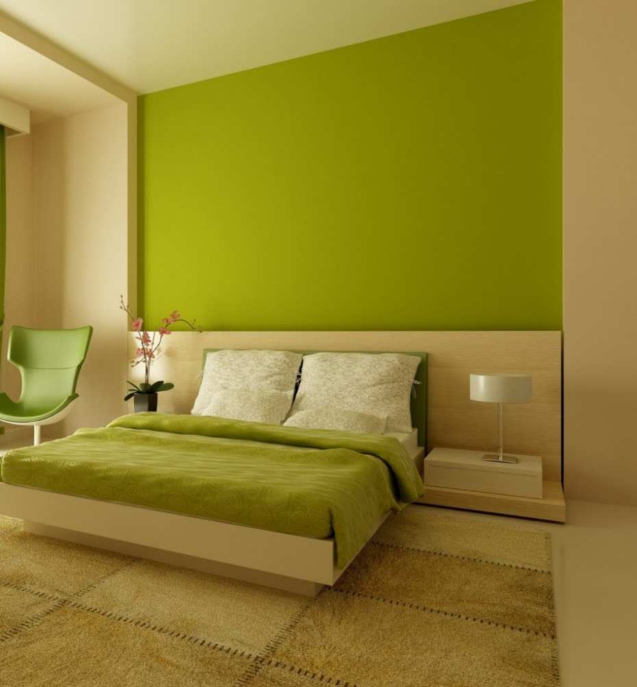 Experiment with wall paint colors green to make your Home ...