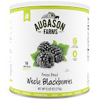 Augason Farms Freeze Dried Whole Blackberries No. 10 Can 3 Pack single (no. 10 can)