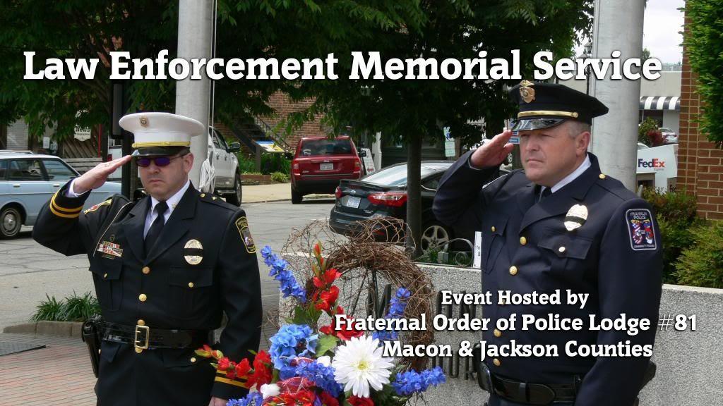 2014 Law Enforcement Memorial Service