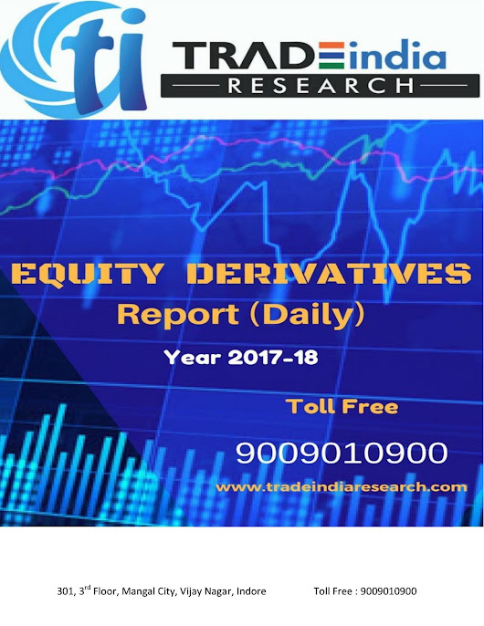 Daily equity derivative prediction report for 17 11 2017 by tradeindia research