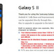 Samsung readies Jelly Bean update for Galaxy S II, posts upgrade features on website