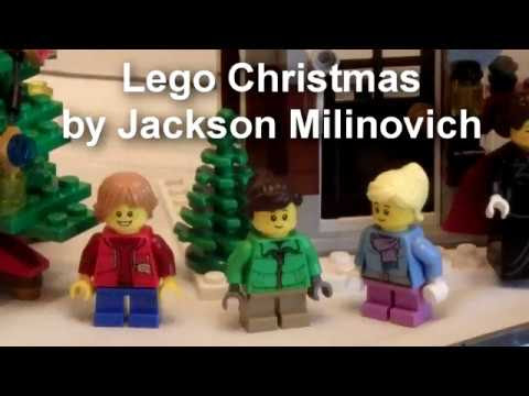 stop-motion lego Christmas