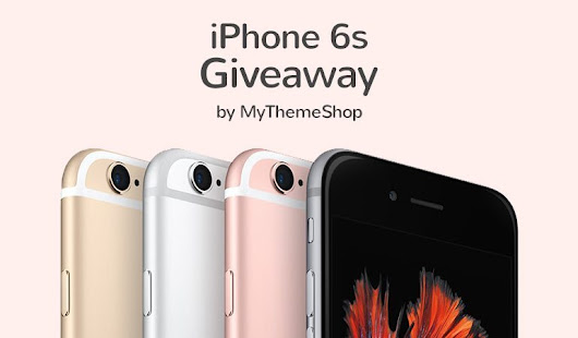 This Halloween, Win an iPhone 6s and Cashback from MyThemeShop
