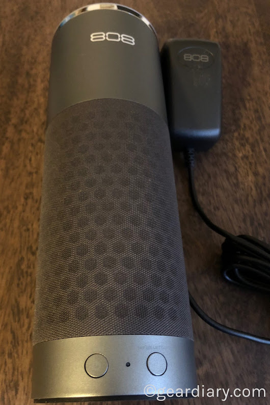 808 Audio XL-V Smart Speaker with Amazon Alexa Is 808's First Smart Speaker • GearDiary