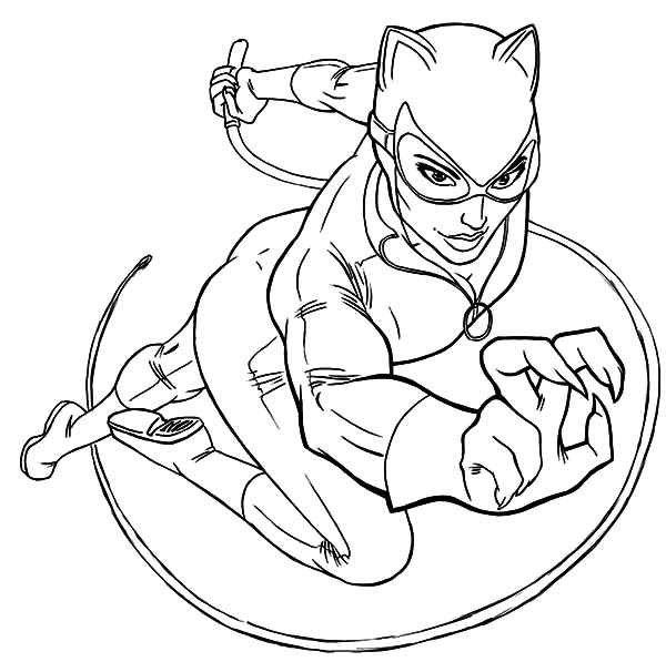 Catwoman Drawing at GetDrawings | Free download