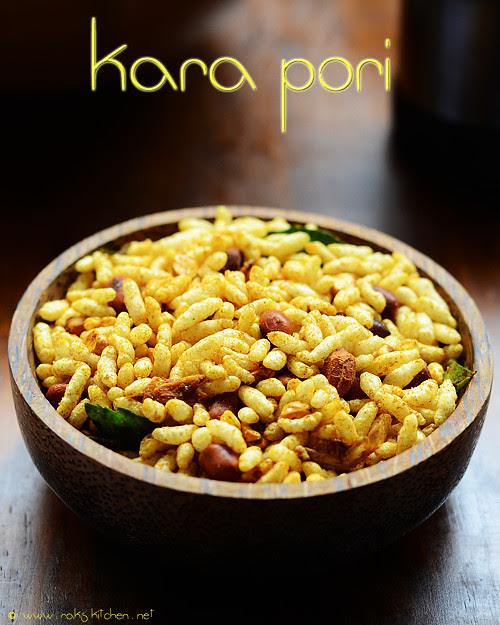 kara-pori-recipe spicy puffed rice