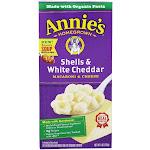 Annie's Macaroni & Cheese Shells & White Cheddar 6 oz.