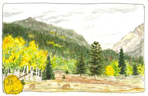 11Sept12 Watercolor sketch