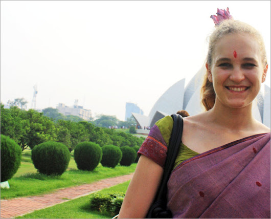 India & A Blonde Tourist: An alternate account : North, News - India Today