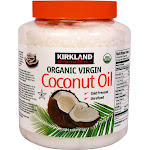 Kirkland Signature Organic Virgin Coconut Oil - 84 fl oz jar