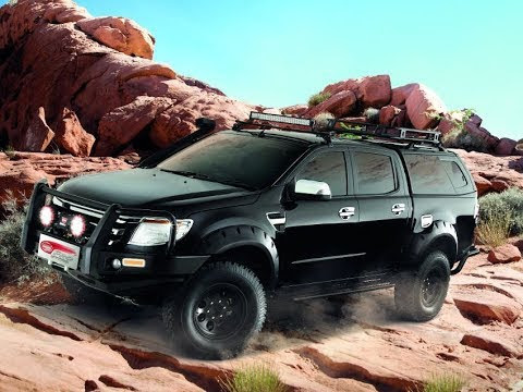 Hard Top Sammitr V4 SUV - sur Ford Ranger- Made in 4x4 fr