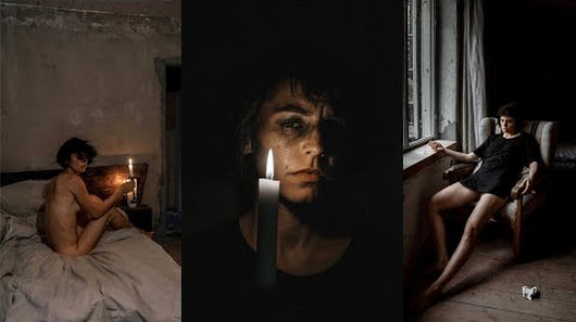 Photo ADVANCED SELFIE CHALLENGE Dark Emotional Heartbreak Edition 6 Easy Self Portrait Ideas