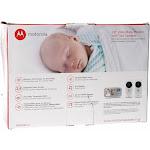 "Motorola MBP483-2 2.8"" Video Baby Monitor in White w/ 2 Cameras"