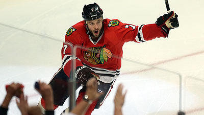 Blackhawks heading to conference finals after Seabrook OT goal