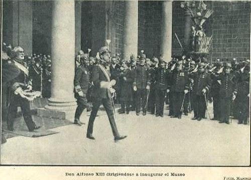 """Visita de Alfonso XIII a Toledo el 1 de julio de 1908. Revista """"La Actualidad"""""""