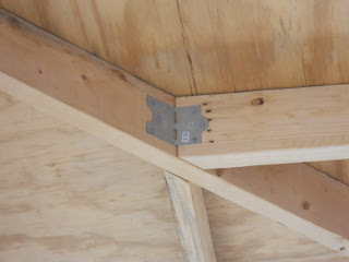 Porch Roof Hip Rafter Joint Ties