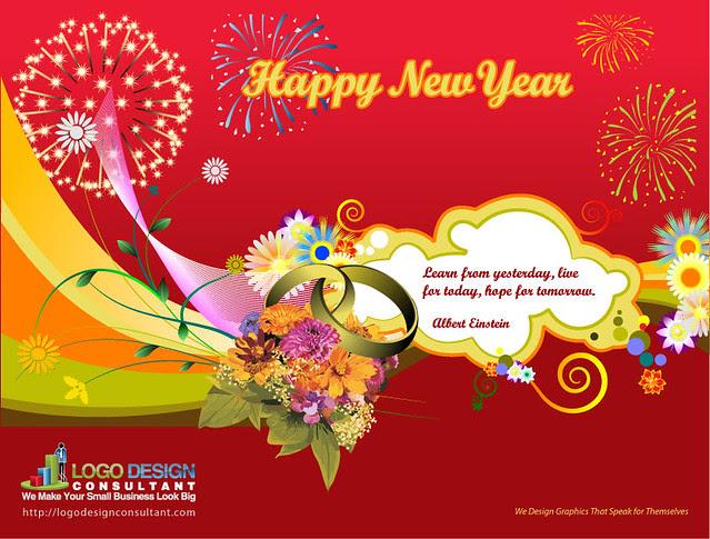 News Year Card Elitamydearestco