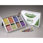 Crayola Jumbo Classpack Crayon, Assorted - 200 count