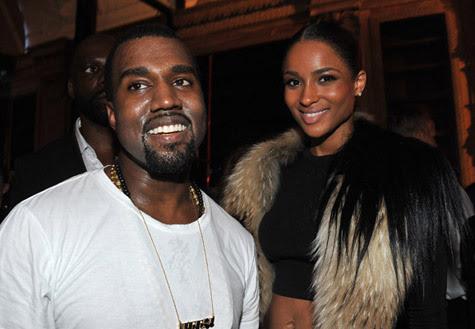 chuckleberryfinn:  My big bro and my future wife… Kanye and Ciara at Ye's Dw show.