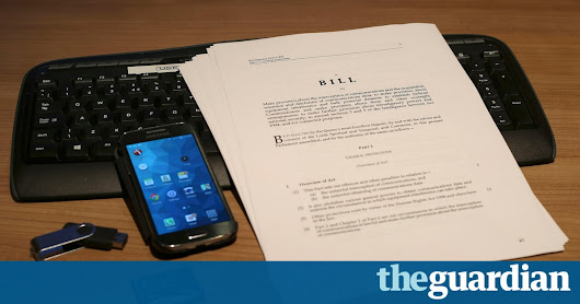 'Extreme surveillance' becomes UK law with barely a whimper | World news | The Guardian