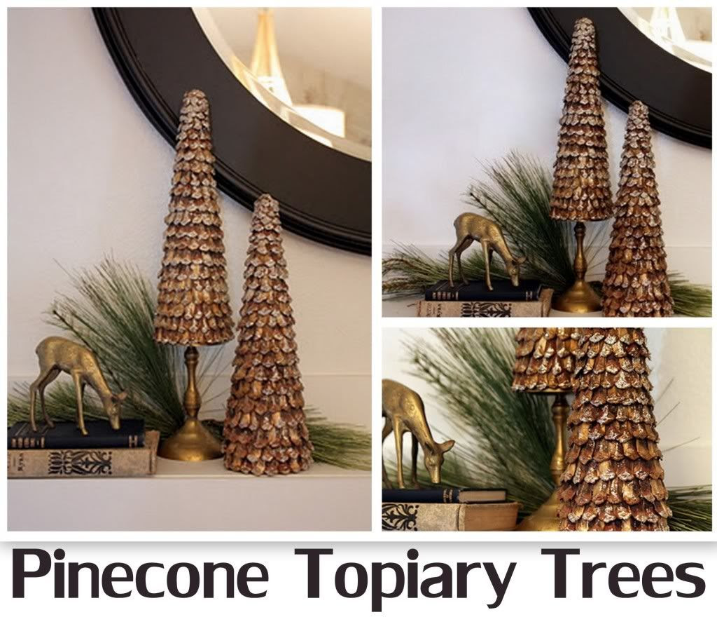 Pinecone Topiary Trees featuring Michelle from Sweet Something ...