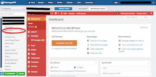 How To Manage Multiple WordPress Sites From One Dashboard